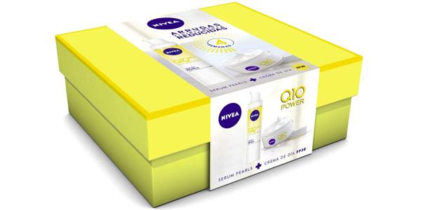 Cofre NIVEA Pack Q10 Power Crema Dia FP30 y Serum Pearls barato en Amazon