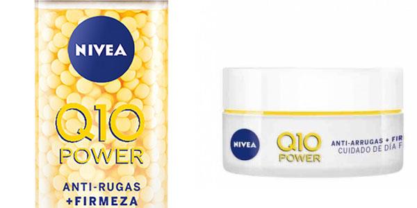 Cofre NIVEA Pack Q10 Power Crema Dia FP30 y Serum Pearls chollo en Amazon