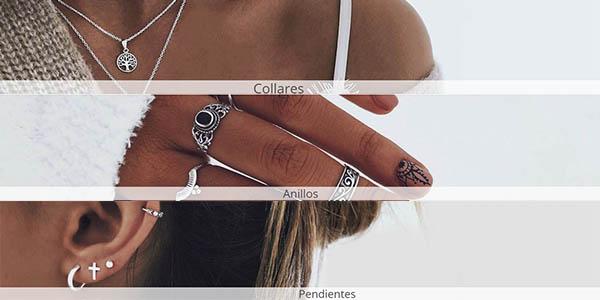 collares, pendientes, anillos y tobilleras SanSaru cupón descuento junio 2019