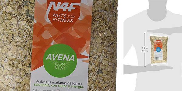 copos de avena para el desayuno Nuts for Fitness chollo