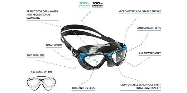 Cressi Planet Swim Goggles gafas de natación oferta