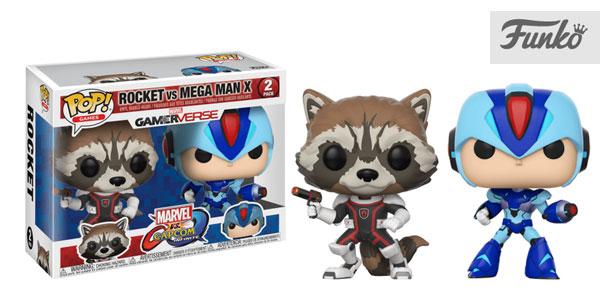 Funko Pack: Pop! Marvel Vs. Capcom Infinite 2 - Rocket Vs. Mega Man X barato en Amazon