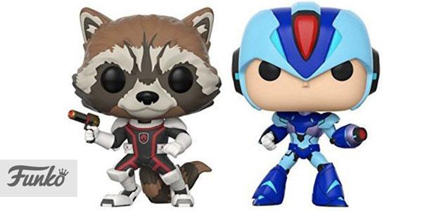 Funko Pack: Pop! Marvel Vs. Capcom Infinite 2 - Rocket Vs. Mega Man X chollo en Amazon