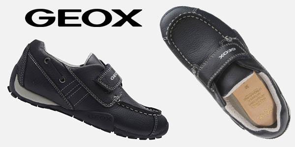 Geox Jr Snake Moc Boy A zapatos infantiles baratos