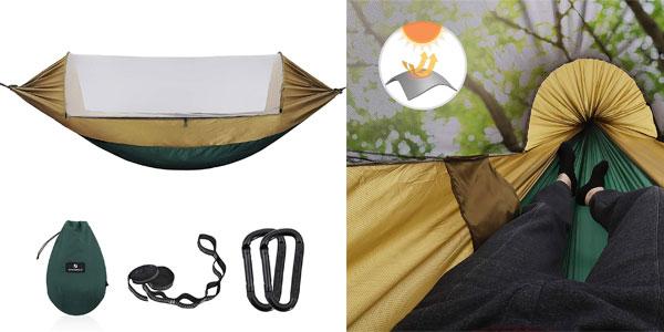 Hamaca con mosquitera SONGMICS GDC17AC chollo en Amazon