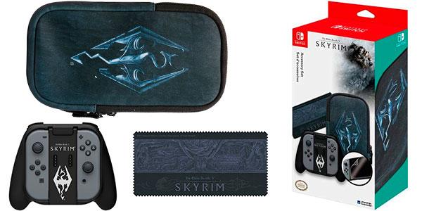 Chollo Pack Essential Starter Kit Skyrim de Hori para Switch