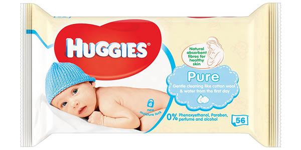 Huggies Pure toallitas para bebé pack ahorro