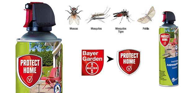 Insecticida para exteriores Bayer Protect Home contra mosquitos tigre barato en Amazon