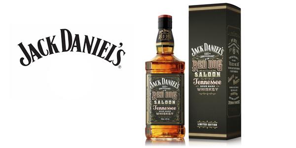 Botella de Jack Daniels Red Dog Saloon Whisky de 70 cl barata en Amazon