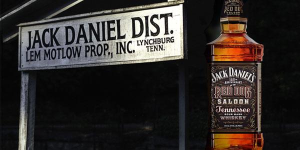 Botella de Jack Daniels Red Dog Saloon Whisky de 70 cl chollo en Amazon