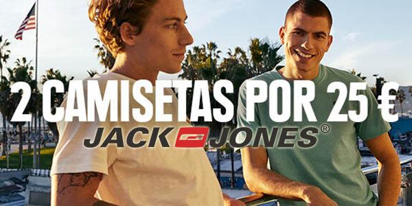 Jack Jones promoción en camisetas