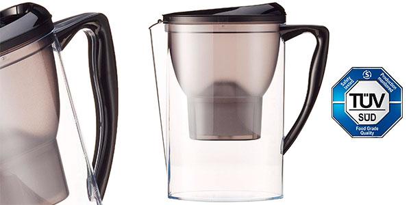 Jarra de filtrado de agua AmazonBasics de 2,3 litros barata
