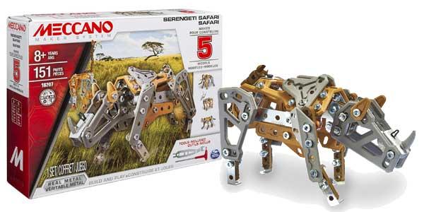 Juego de construcción MECCANO Serengeti Safari de 151 piezas barato en Amazon