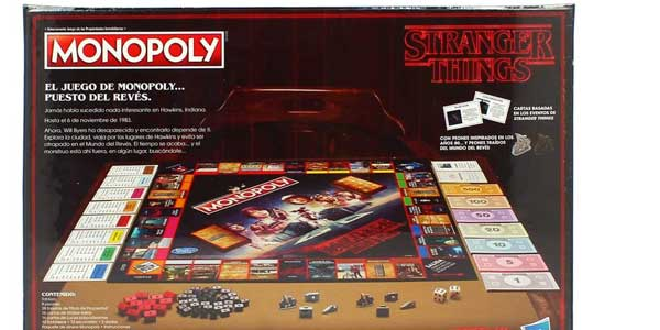 Juego de Mesa Monopoly Stranger Things de (Hasbro C4550105) chollo en Amazon