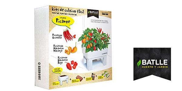 Huerto urbano Seed Box Picante Batlle barato en Amazon