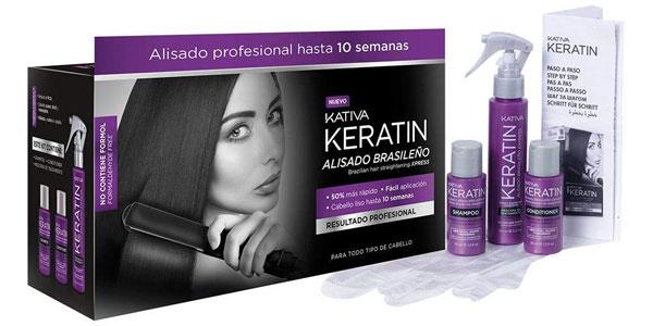 Kit Kativa Keratin Alisado Brasileño Xpress barato en Amazon