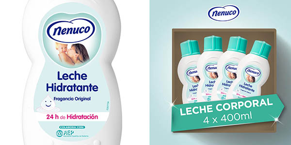 leche hidratante Nenuco pack ahorro