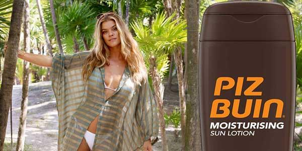 Loción Solar Hidratante Piz Buin Moisturising SFP 30 de 200 ml barata en Amazon