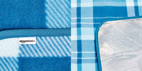 Manta AmazonBasics para pícnic con base impermeable (175 x 200 cm) barata