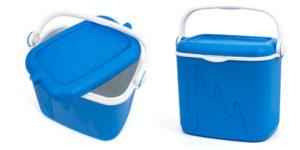 Nevera portátil rígida Curver 32 L azul barata en Amazon