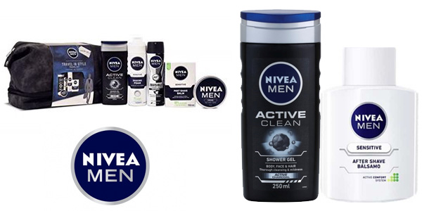 Set de regalo Nivea Men Travel Kit para hombre chollo en Amazon