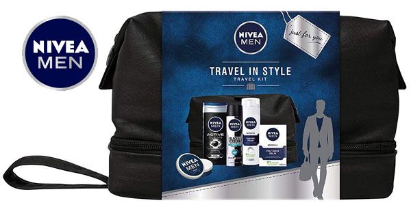 Set de regalo Nivea Men Travel Kit para hombre barato en Amazon