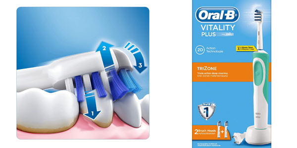 Cepillo eléctrico Oral-B Vitality Plus Trizone en oferta en Amazon