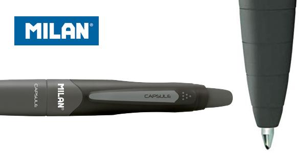 Pack x20 Bolígrafos Milan Ball Pen Capsule tinta negra chollo en Amazon