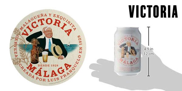 Pack de 24 latas Cerveza Victoria Málaga de 330 ml chollo en Amazon
