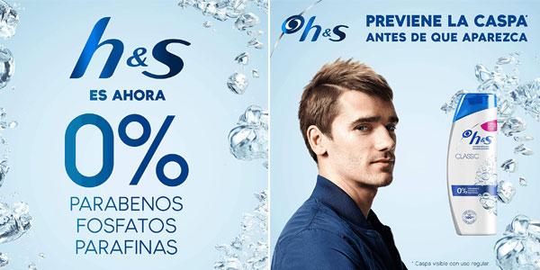 Pack x3 Champús anticaspa Head & Shoulders Classic de 540 ml chollo en Amazon
