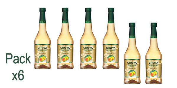 Pack x6 Choya Licor de Ciruela de 750 ml barato en Amazon