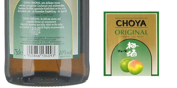 Pack x6 Choya Licor de Ciruela de 750 ml chollo en Amazon