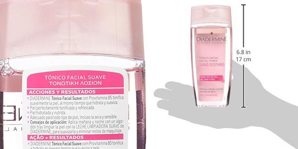 Pack x6 Diadermine Tónico facial suave de 200 ml chollo en Amazon