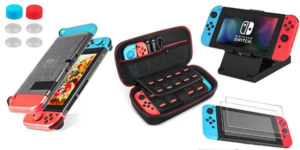 Kit de accesorios Keten 13 en 1 para Nintendo Switch