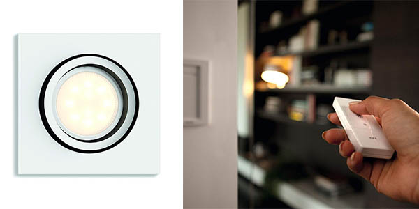 Philips Hue White Ambiance Milliskin foco LED aplicación móvil chollo