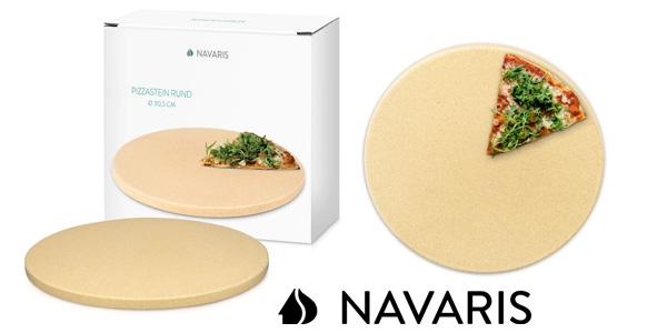 Piedra para pizza de cordierita Navaris barata en Amazon