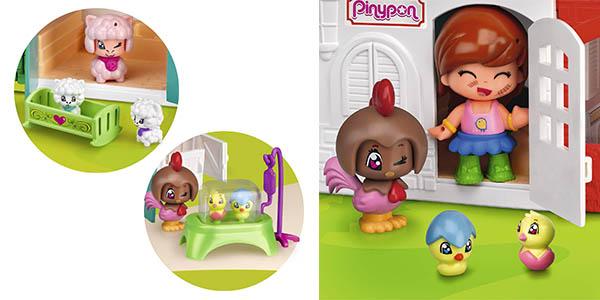 Pinypon granja divertida con animales juego infantil chollo