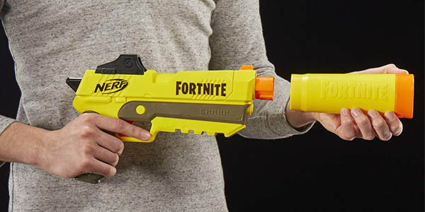 pistola de dardos Nerf Fornite SP-L descuento
