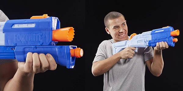 pistola Nerf Super Soaker Fortnite Nobby Shotty chollo