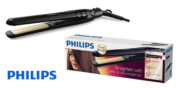 plancha de pelo Philips KeraShine HP8348 barata