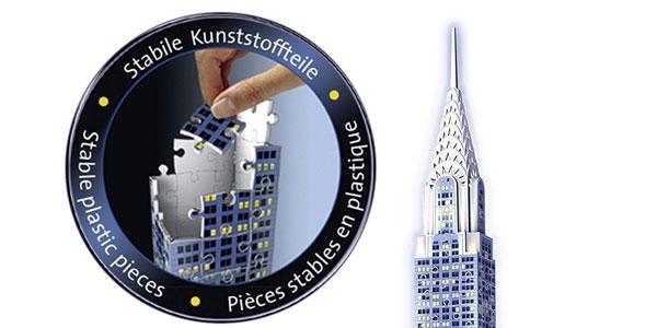 Puzzle 3D Ravensburger Chrysler Building edición Nocturna chollo en Amazon