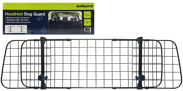 Reja para perros en coche Sakura SS5259 barata en Amazon