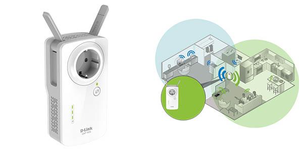Repetidor WiFi D-Link DAP-1635 en Amazon