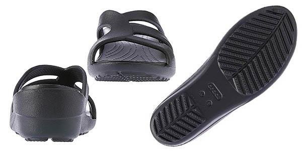 sandalias de cuña Crocs Sanrah Strappy Wedge oferta
