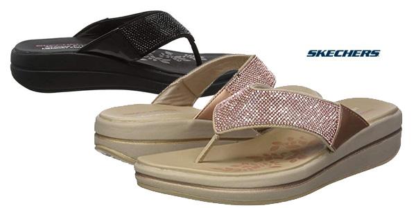 teléfono orden Caprichoso  Chollo Sandalias Skechers Upgrades para mujer por sólo 35€ con envío gratis  (30% de descuento)