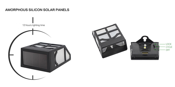 Set de 5 Lámparas Solares BORUIT chollo en Amazon
