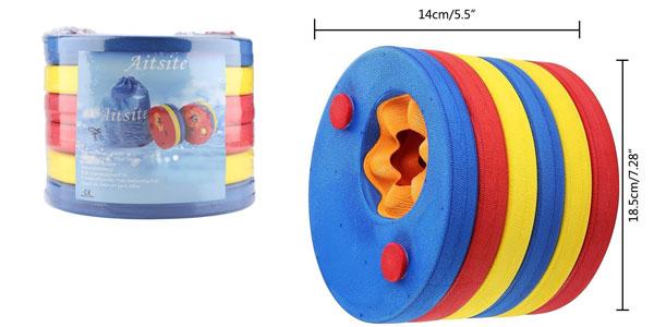 Set x6 Manguitos de Natación para niños en forma de discos de espuma chollo en Amazon
