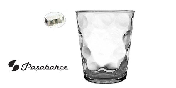 Estuche 6 Vasos agua Toros-Space Pasabahçe de 26 cl/ud chollo en Amazon