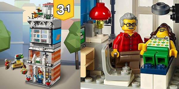 set de construcción LEGO mascotas cafetería para niñ@s a partir de 9 años barato