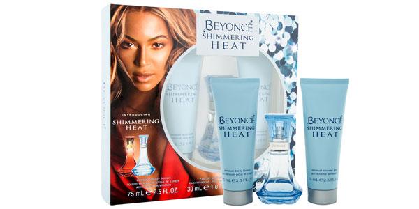 Set de regalo Eau de Toilette Beyonce Shimmering Heat de 30 ml + Gel de ducha y loción corporal barato en Amazon